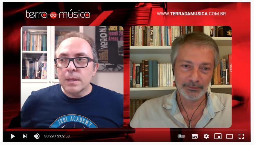 Live com o músico Turi Collura